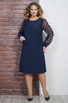 Платье 1284 синий ALANI
