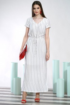 Платье 1426 белый ALANI