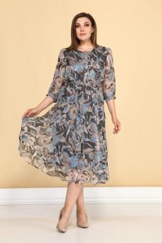 Платье 1030 мультиколор ALEZA