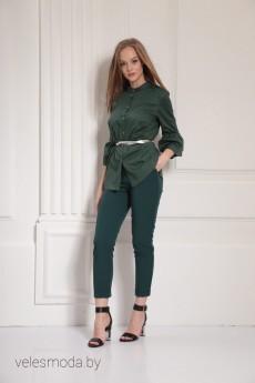 Блузка 6313 зеленый AMORI