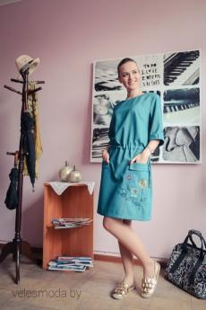 Платье 1246 малахитовый ARISHA