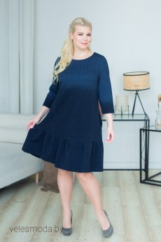 Платье 2289 синий-1 ASV