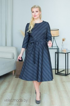 Платье 2290 серый ASV