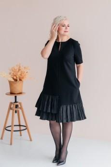 Платье 2438 черный ASV