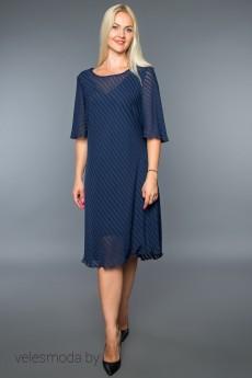 Платье 743 синий AVILA