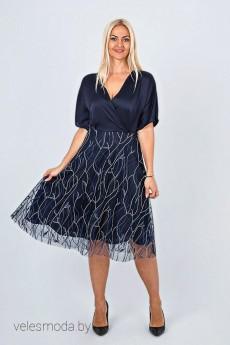 Платье 750 синий AVILA