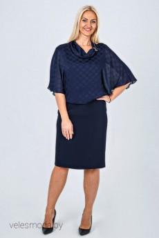 Платье 755 синий AVILA