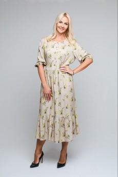 Платье 0859 бежевый AVILA