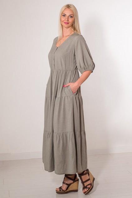 Платье 856 хаки AVILA