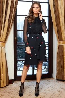 Платье 1370 черный AYZE