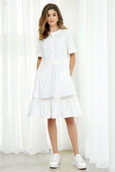 Платье 2083 молочный AYZE