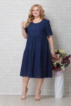 Платье 794 синий Aira-Style