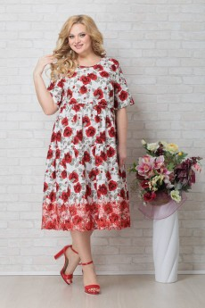 Платье 795 розы Aira-Style