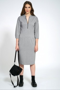 Платье 107 серый Almira