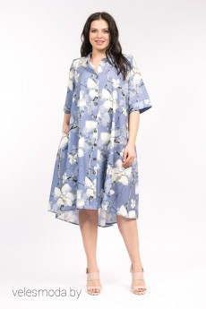 Платье 3500 синий AmeliaLux