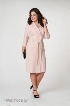 Платье 2025 пудровый Amelia Lux