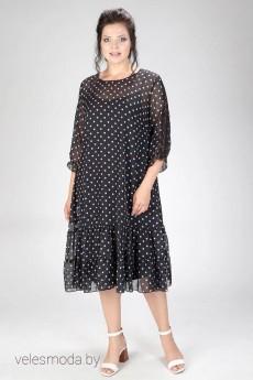 Платье 430-20 черный AmeliaLux