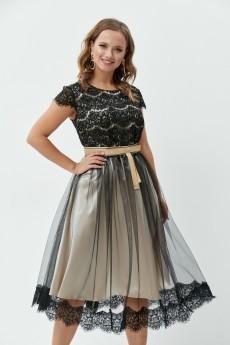 Платье 772 черный Анастасия Мак