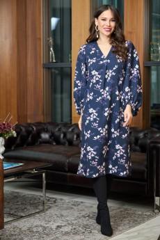 Платье 718 синий Anastasia