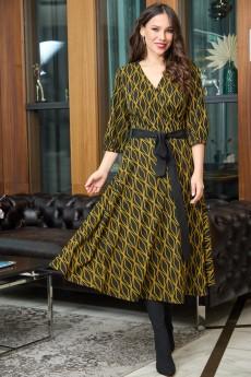 Платье 723 горчица Anastasia