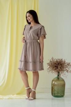 Платье 660 капучино Angelinа