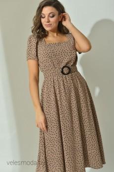 Платье 535 бежевый Angelinа