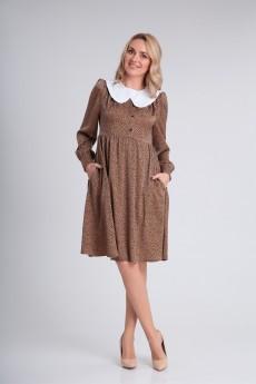 Платье 121 карамель Andrea Fashion
