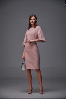 Платье 166 розовый Andrea Fashion