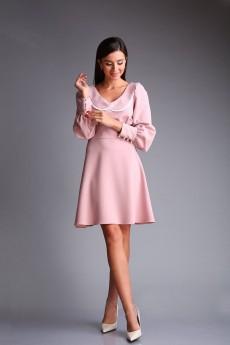 Платье 167 розовый Andrea Fashion