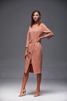 Платье  175 персик Andrea Fashion