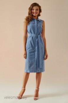 Платье   018 джинс Andrea Fashion