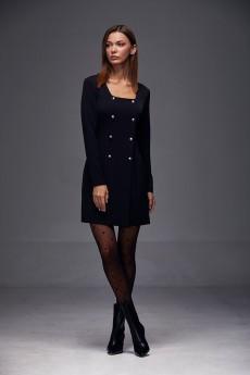 Платье 183 черный Andrea Fashion