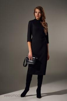 Платье 066 черный Andrea Fashion