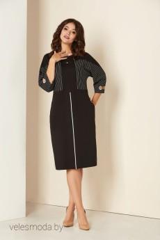 Платье 00286 черный Andrea Style