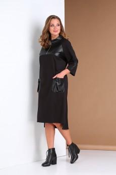 Платье 0401 черный Andrea Style