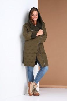 Куртка 0410 хаки Andrea Style