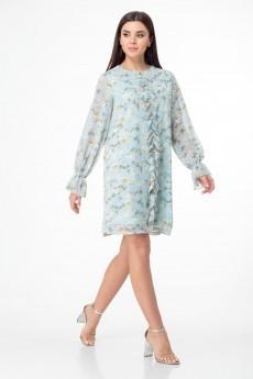 Платье 1013 бирюза Anelli