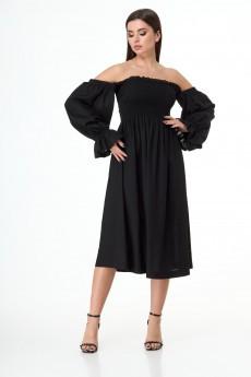 Платье 1033 черный Anelli
