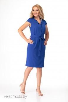Платье 390 васильковый Anelli