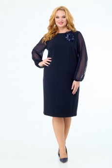 Платье 450 синий Anelli