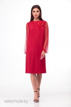Платье 450 фуксия Anelli