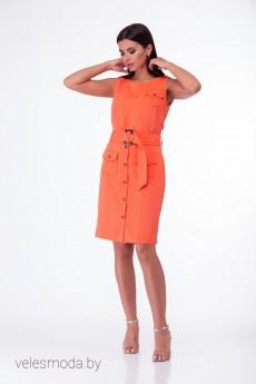 Платье 850 тона манго Anelli