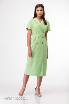 Платье 854 салатовый Anelli