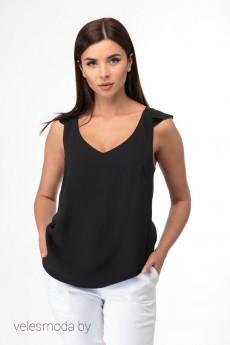 Блузка 865 черный Anelli