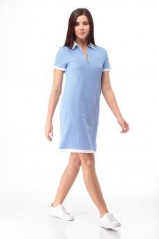 Платье 868 голубой Anelli