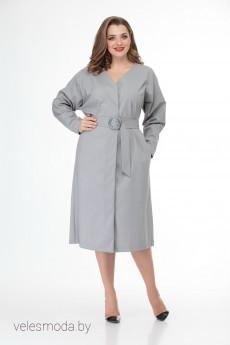 Платье 882 серый Anelli