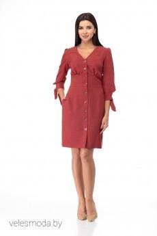 Платье 885 терракот Anelli