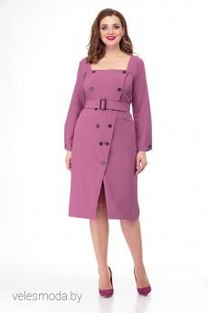 Платье 890 розовый Anelli