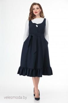 Платье 896 синий Anelli
