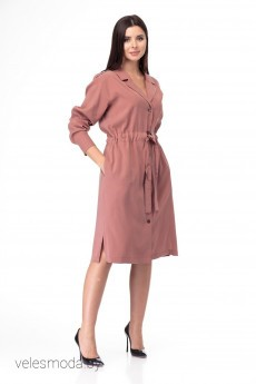 Платье 900 терракот Anelli